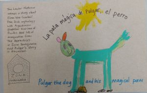 Pulgar the dog and his magic paw.